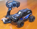 LaTrax Teton 1/18 Scale 4WD Monster Truck RTR package