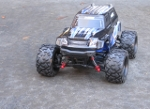 LaTrax Teton 1/18 Scale 4WD Monster Truck on road